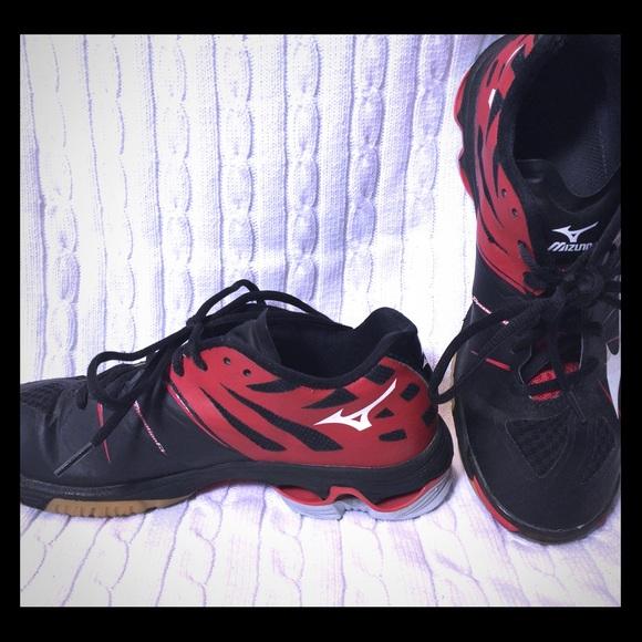 mizuno womens volleyball shoes size 8 queen size eu logo